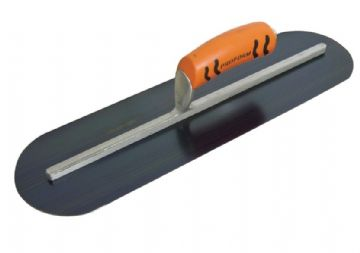 "Blue Steel Pool Trowel 20"" x 5"" Proform Handle Long Shank Kraft Tools"